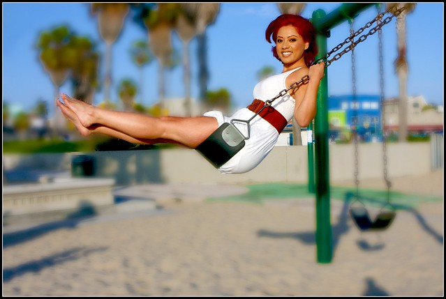 Carla on the Swing