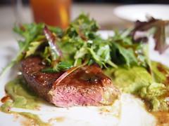 Steak & mash, Le Cuisson, Queen Street