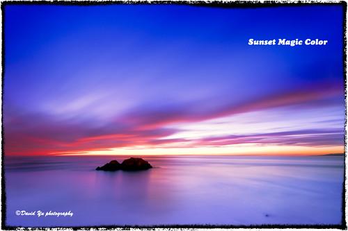 Sunset Magic Color by davidyuweb