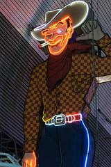 Fremont Street Cowboy
