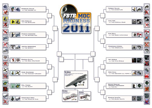FBTB MOC Madness 2011 Building Tournament Board Sweet Sixteen