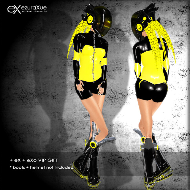 + eX + eXo cyber outfit VIP