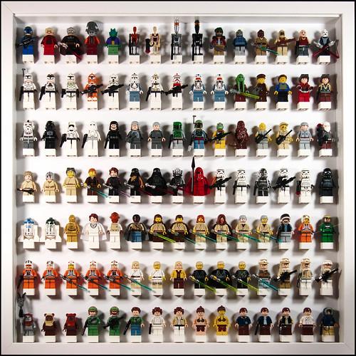 Lego Star Wars Minifig frame...