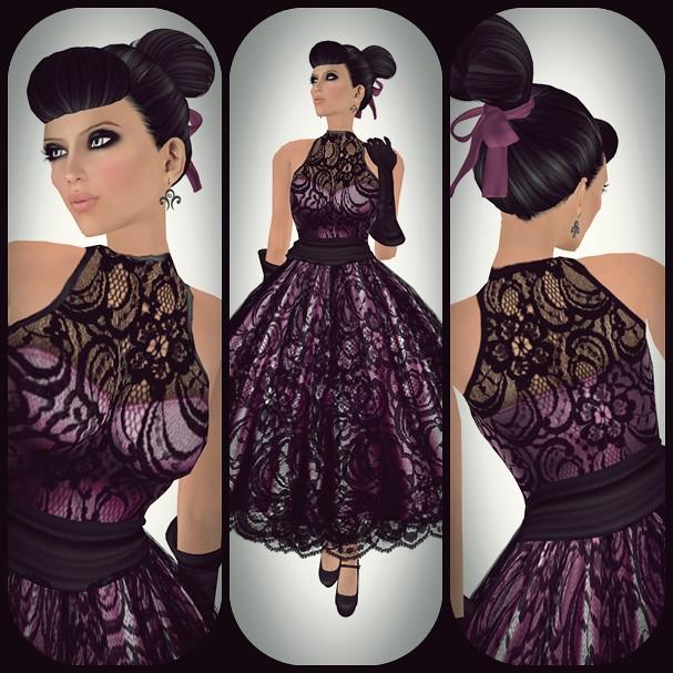 Vintage Fair 2011 - Purple Moon - Donna