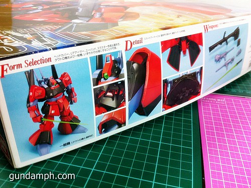 MG Rick Dias Quattro Custom RED Review OOB Build (3)