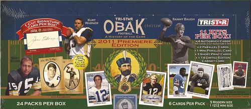 2011 Tristar Obak box