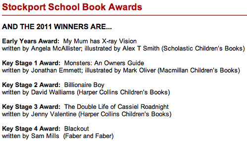 Stockport School Book Award