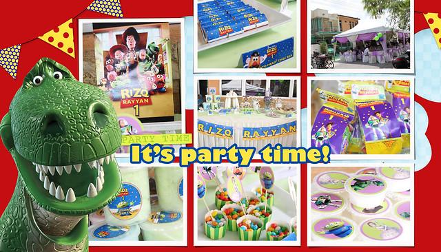 Rizq Rayyan's 1st Birthday Party | Birthday Party Photographer Malaysia