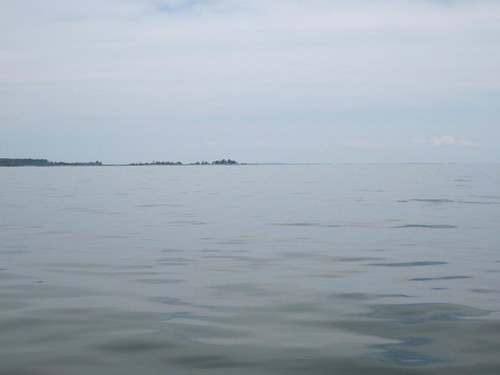 A glassy day on the Bay