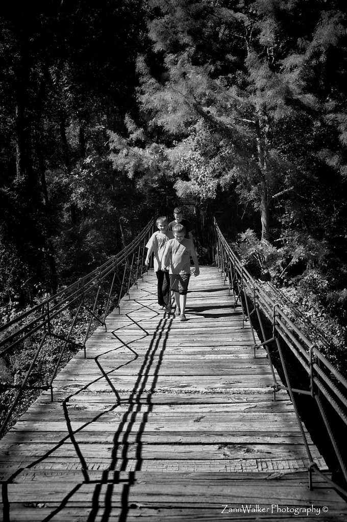 Tishomingo State Park Swinging Bridge 04