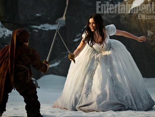 TS Snow White white dress