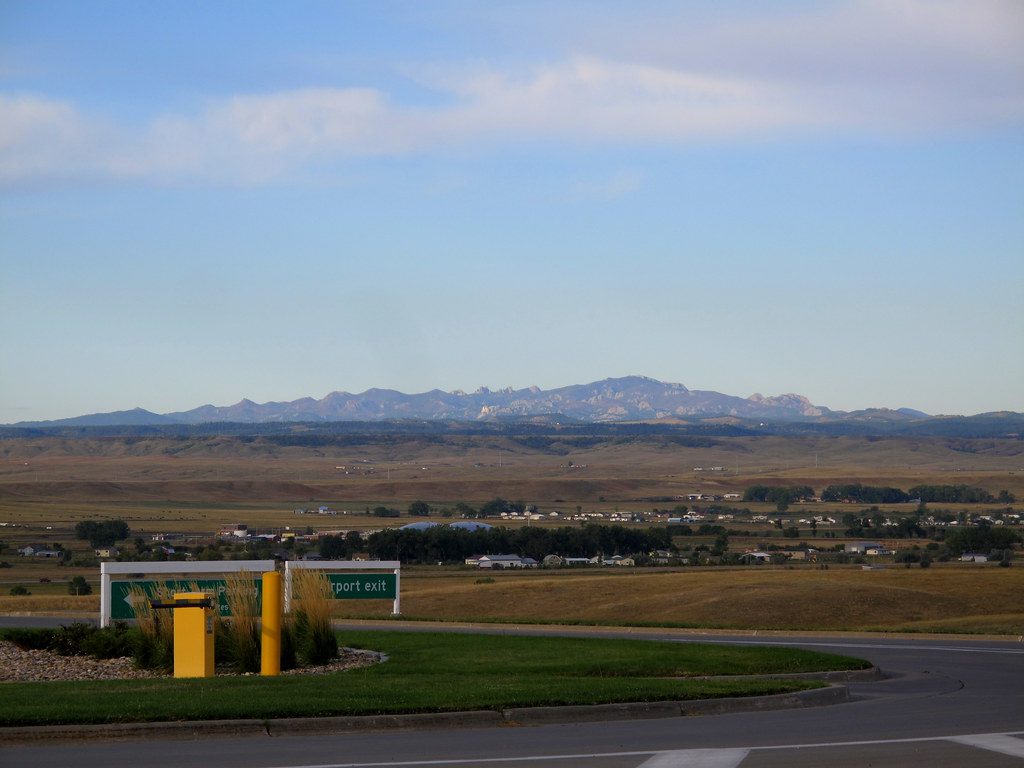 Black Hills from RC airport