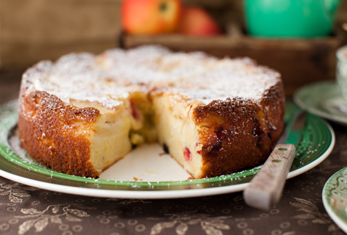 Apple_Torte_Cranberries_5