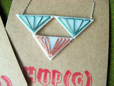 Shupg Embroidered Necklaces 6