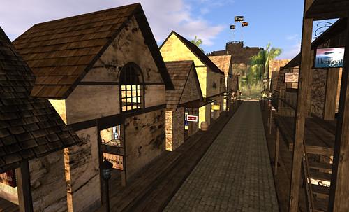 Pirate market in 1700's Pirate Sea of Fair Winds