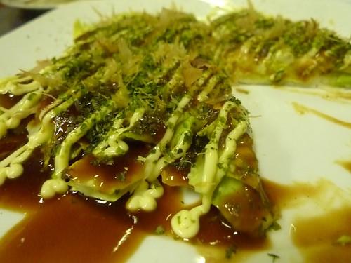 Okonomiyaki @ Kushiten