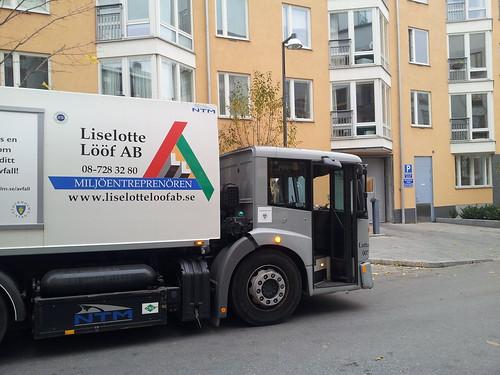 Liselotte Lööfbil med sänkt förarhytt