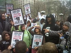 Million Hoodie March for Trayvon Martin in NY'...
