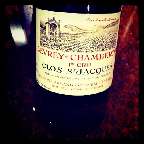Armand Rousseau Gevrey-Chambertin Clos St. Jacques 1997