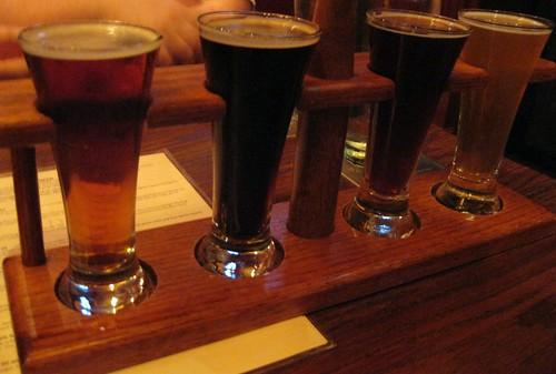 Spf's Flight of Sample Beers