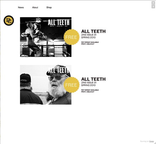 All Teeth PDFs - Downpour Store