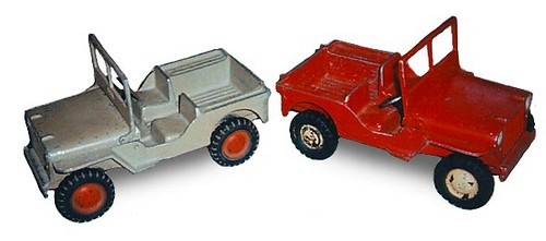 Al-toys Jeep castings