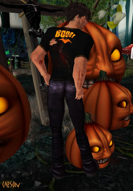 Immerschoen- Halloween Shirt  GG