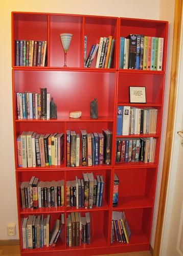 Our new Montana bookshelves