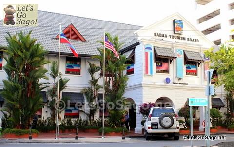 Sabah Tourism Board Office at 0KM site in Kota Kinabalu, Sabah