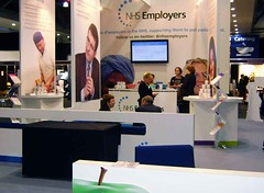 NHS Employers stand