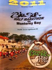 Big Sur half marathon monterey 2011