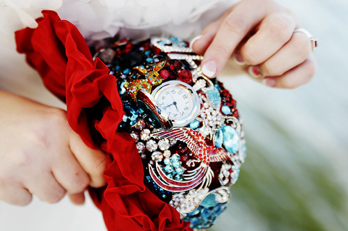One of the brooches was a watch!