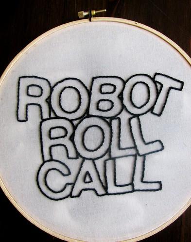 Robot Roll Call