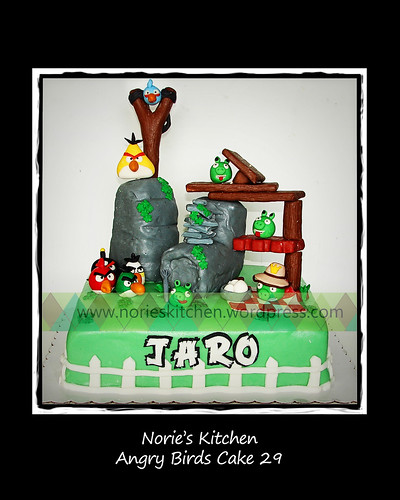 Norie's Kitchen - Angry Birds Cake 29 by Norie's Kitchen