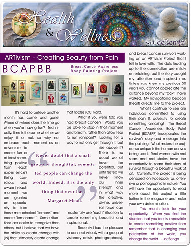 OM Times November 2011: Health & Wellness Editorial - BCABPP by deZengo