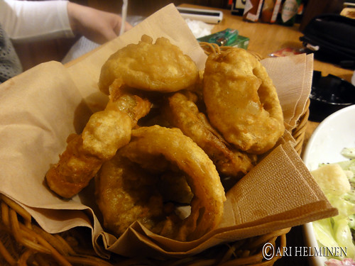 Delicious Onion rings ! (best of tokyo)