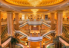 Inside the Emirates Palace