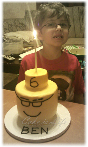 Ben's Lego Cake