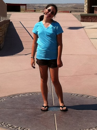 Ruthie at Four Corners