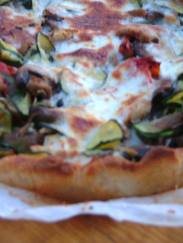 quiche with lake perch, shallot snd tomato