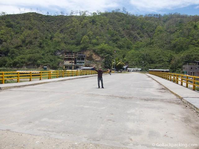 Ecuador - Peru border at La Balsa