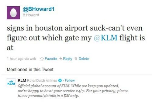KLM Tweet Failure 1