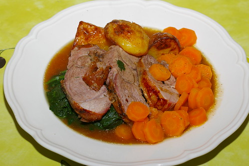 Roast leg of lamb by La belle dame sans souci