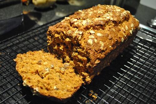 Warm Pumpkin bread