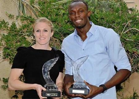 Usain Bolt y Sally Pearson son nombrados Atletas del Ano 2011 por la IAAF