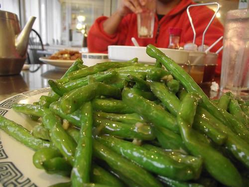 garlic green beans @ new paradise (buford highway)