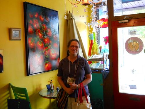 Susanne at Maggie's Buns