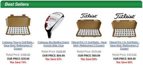 GolfEtail Affiliates: Know Your Best Sellers - MGECOM