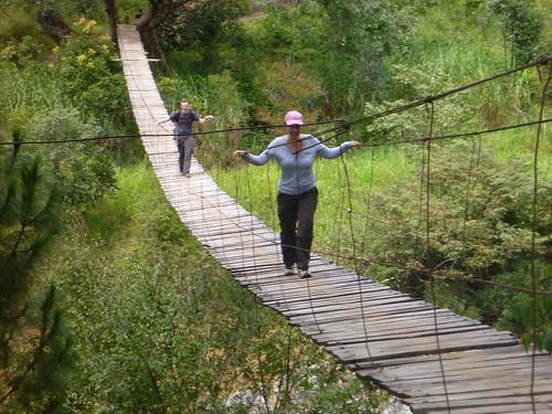 Swinging bridge no 1