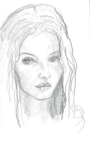 quick pencil sketch by husdant